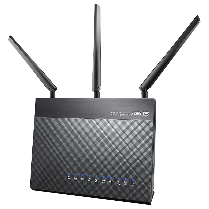 Asus AC1900 Dual Band Wireless Router - RT-AC68U