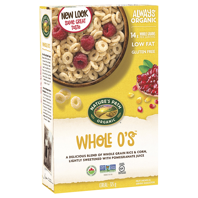 Nature's Path Organic Whole O'S Cereal - 325g
