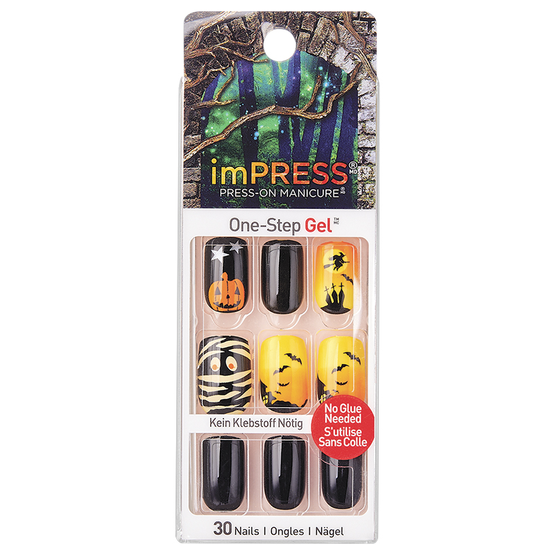 Kiss imPRESS Press-On Manicure Halloween Collection
