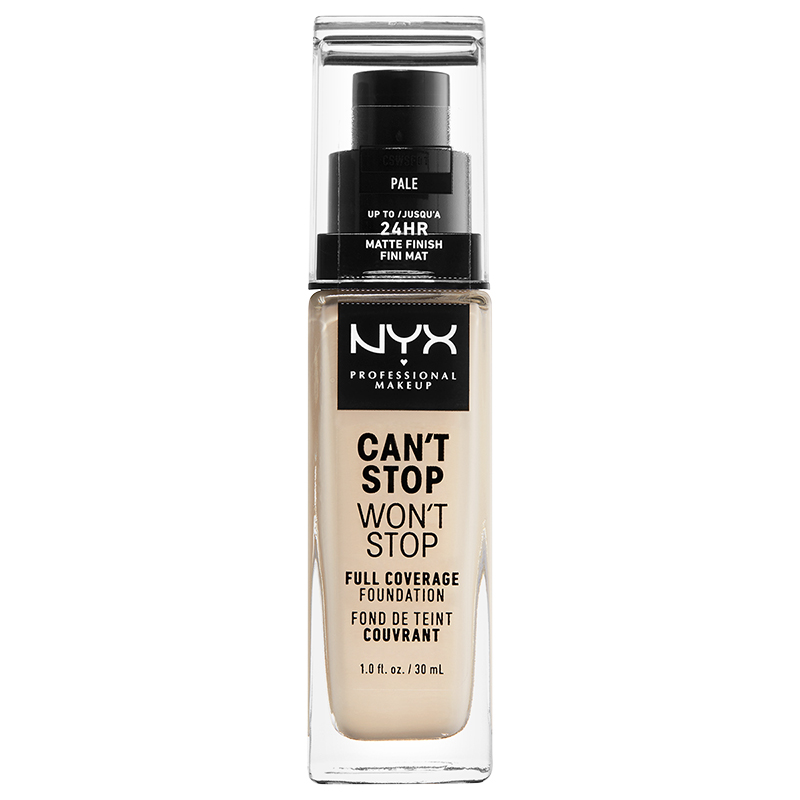 NYX Professional Makeup Can't Stop Won't Stop Full Coverage Foundation - Pale