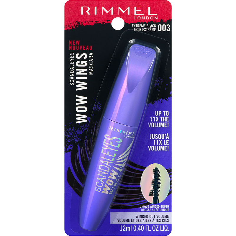 Rimmel Scandaleyes Wow Wings Mascara - Extreme Black