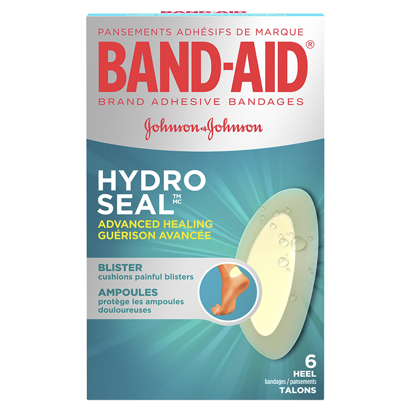 Band-Aid Hydro Seal Advanced Healing Blister Cushions - Heel Bandages - 8's
