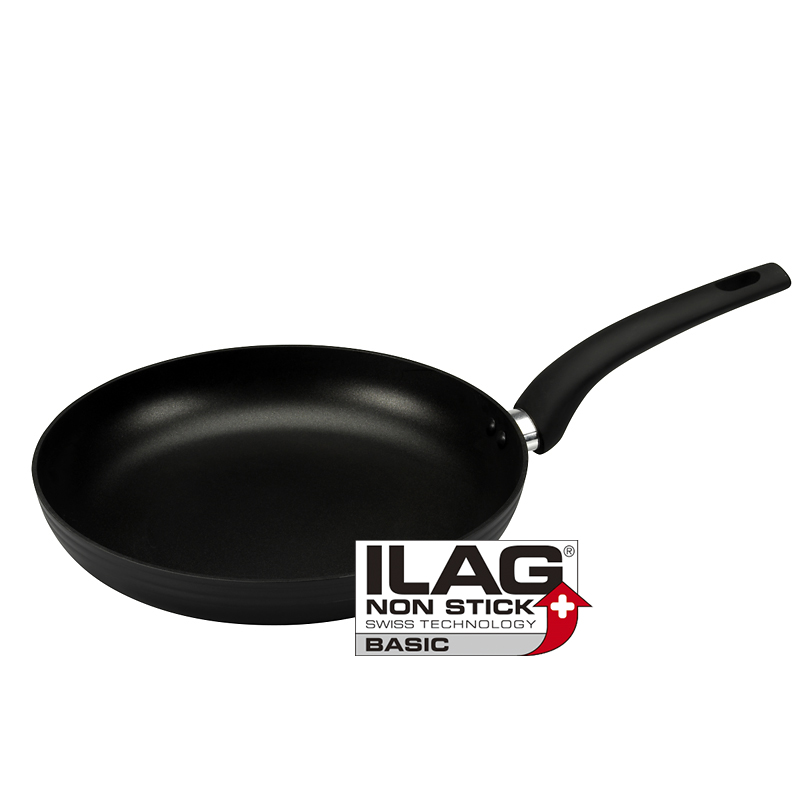 London Drugs Non-Stick Aluminum Frypan - Black - 24cm