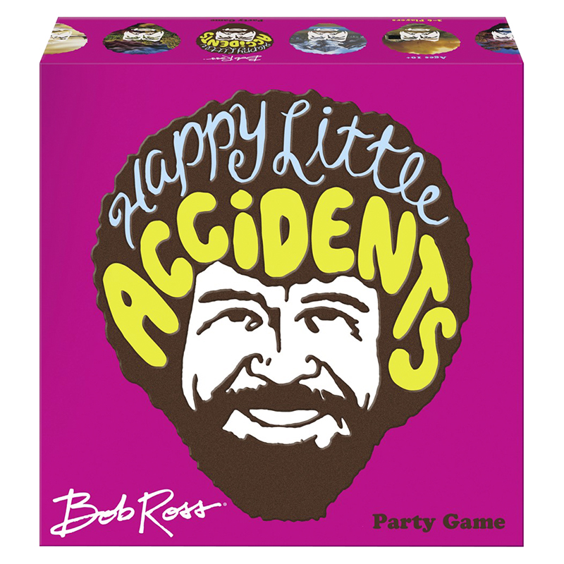 Bob Ross Happy Little Accident Game