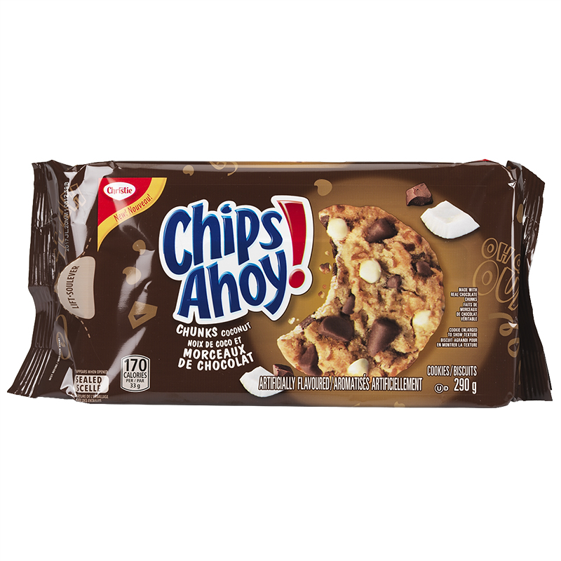 Christie Chips Ahoy Cookie - Coconut - 290g
