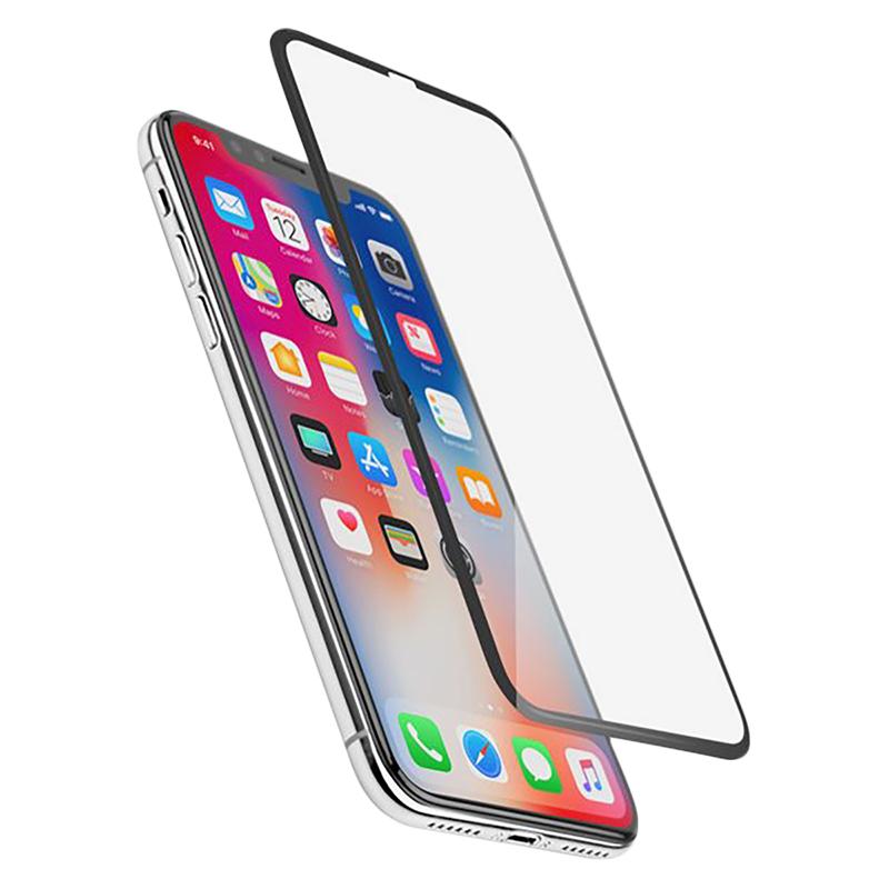 reputable site 6895d 66bc8 Logiix Phantom Glass HD Edge-to-Edge Screen Protector - iPhone XS Max -  LGX-12846