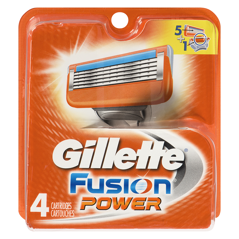 Gillette Fusion5 Power Cartridges - 4s