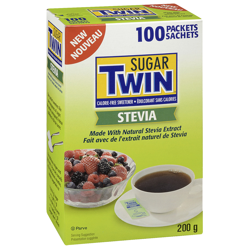 Sugar Twin Stevia Packets - 100's