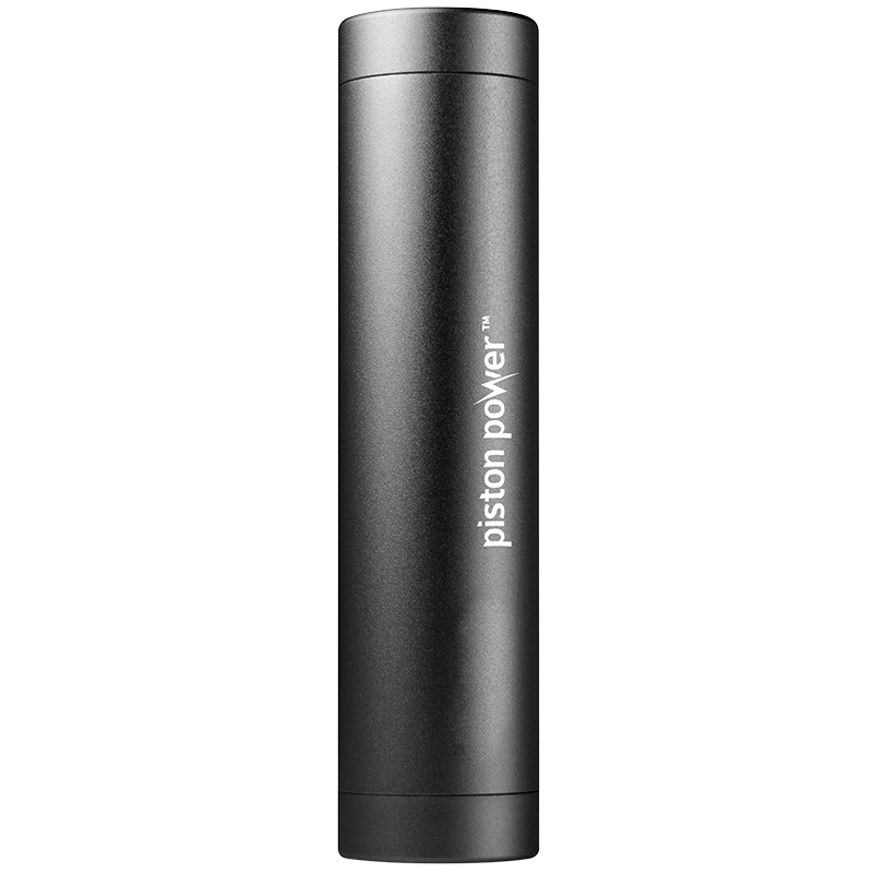 Logiix Piston Power 3400 mAh Portable Battery - Black - LGX12109
