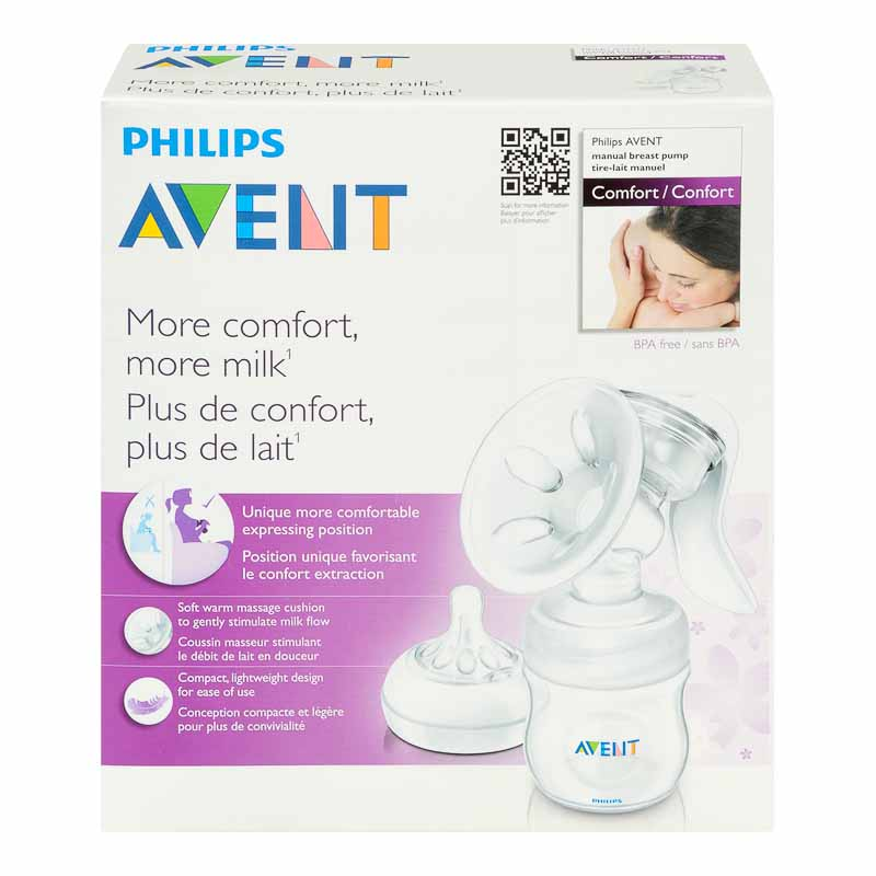 Avent Natural Single Manual Breast Pump - 4 oz - SCF330/20