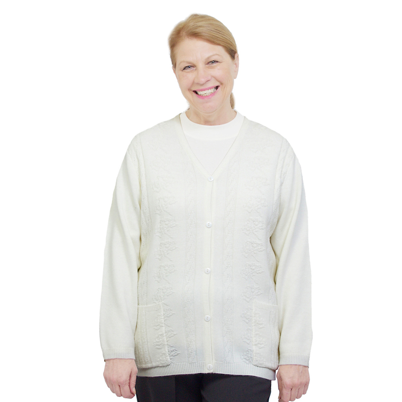 Silvert's Women's Classic Open Back Cardigan - 2XL - 3XL