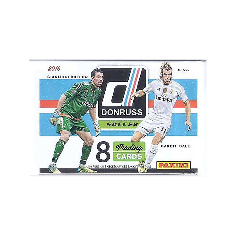 2016/17 Donruss Soccer Blister Pack
