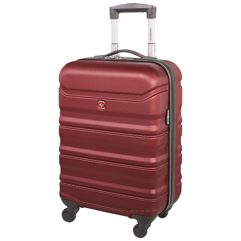 "Swissgear Chic Lite Carry-on Luggage - 19"" - Burgundy"