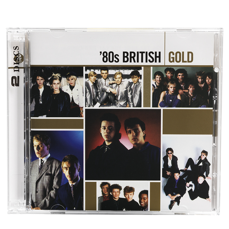 80's British - Gold - 2 Disc Set