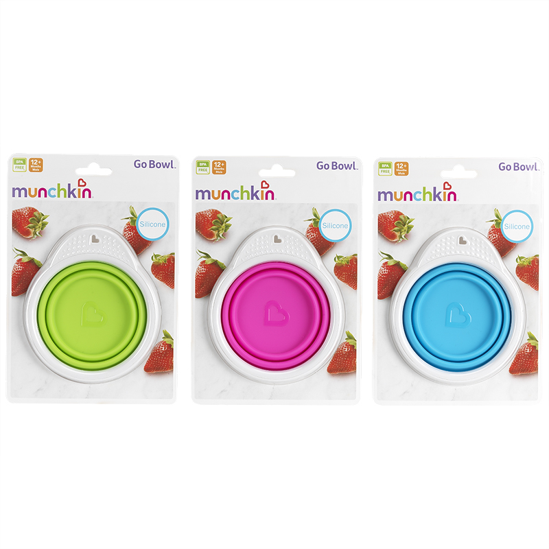Munchkin Collapsible Go Bowl - 11325 - Assorted