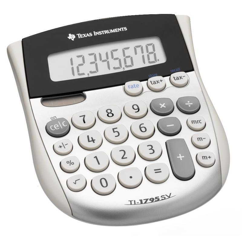 Texas Instruments Solar Desktop Calculator