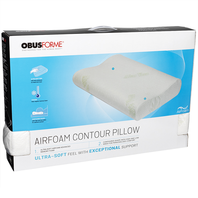 ObusForme Air Foam Contour Pillow - PL-AFCT-QN