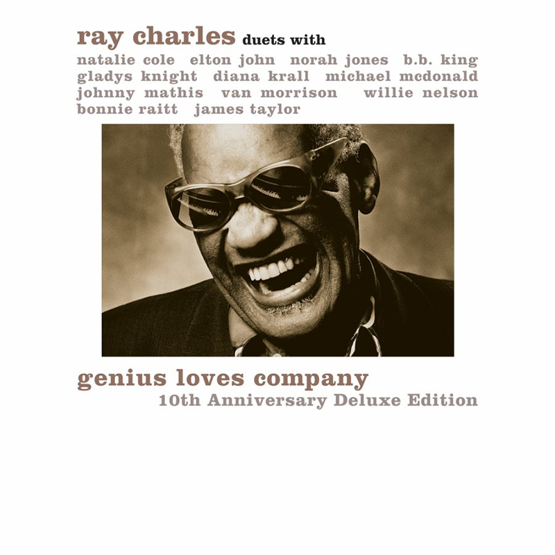Ray Charles - Genius Loves Company - CD + DVD