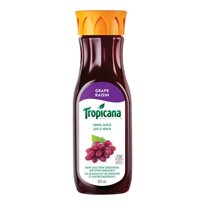 Tropicana Grape Juice - 355ml