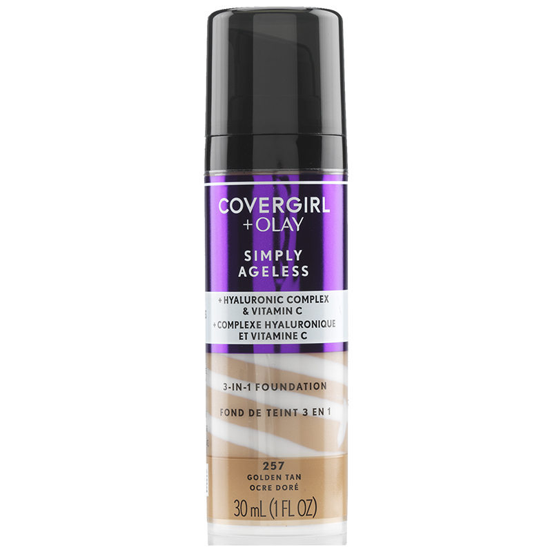 CoverGirl & Olay Simply Ageless 3-in-1 Liquid Foundation - Golden Tan