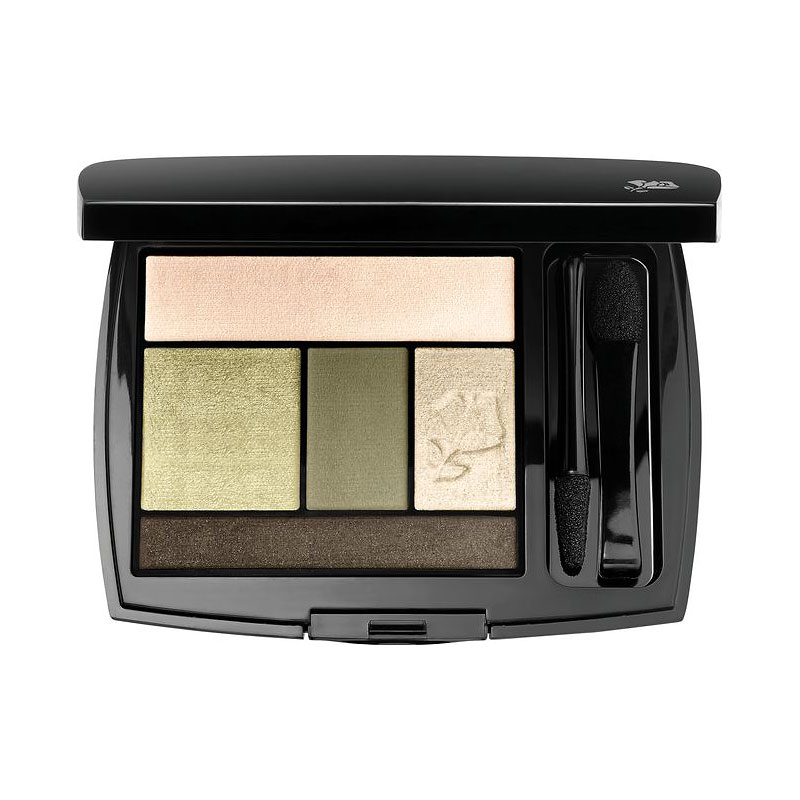 Lancome Color Design Eye Brightening All in One 5 Shadow and Liner Palette - Jade Fever