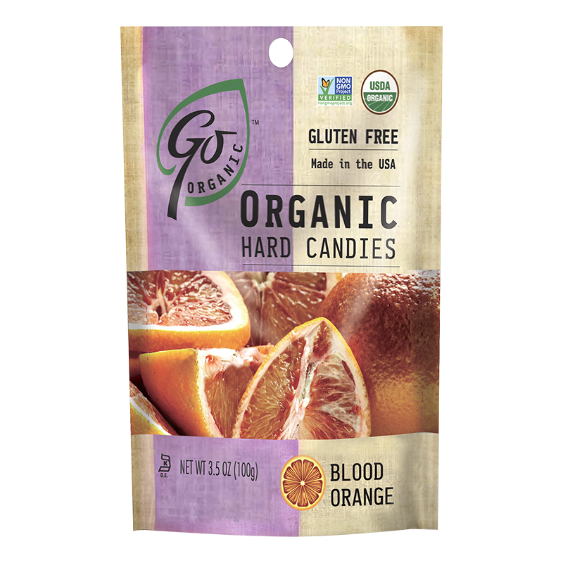 Go Organic Hard Candy - Blood Orange