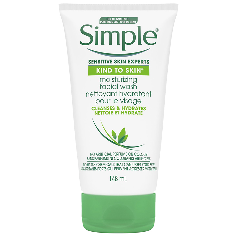 Simple Kind To Skin Non-Drying Moisturizing Facial Wash - 150ml