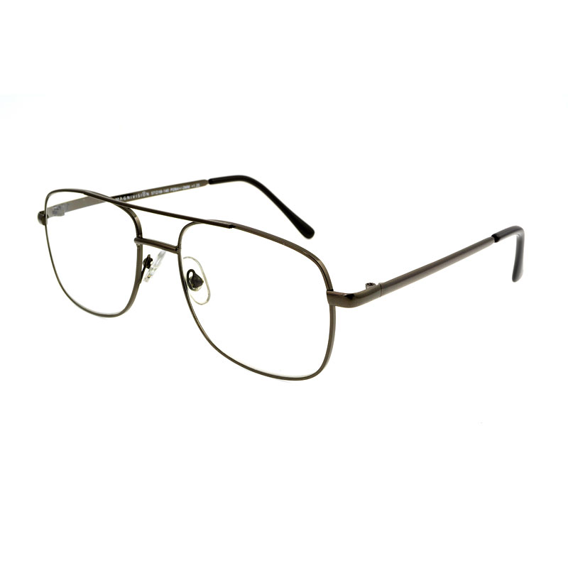 Foster Grant RR 51 Reading Glasses - Gunmetal - 2.50