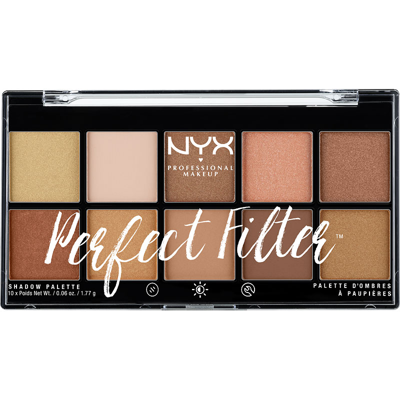 NYX Professional Makeup Perfect Filter Shadow Palette - Golden Hour