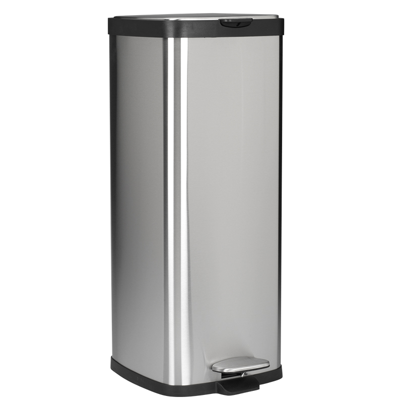 London Drugs Garbage Can - Stainless Steel - 30L