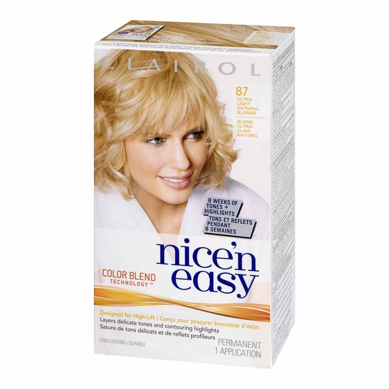 Clairol Nice 'N Easy - 87 Ultra Light Natural Blonde