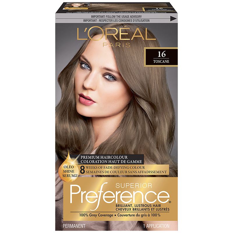 L Oreal Superior Preference Fade Defying Colour Shine System 16