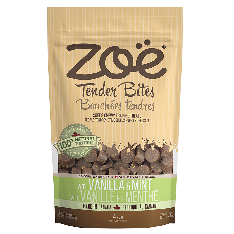 Zoe Tender Bites Dog Treats - Vanilla Mint - 150g