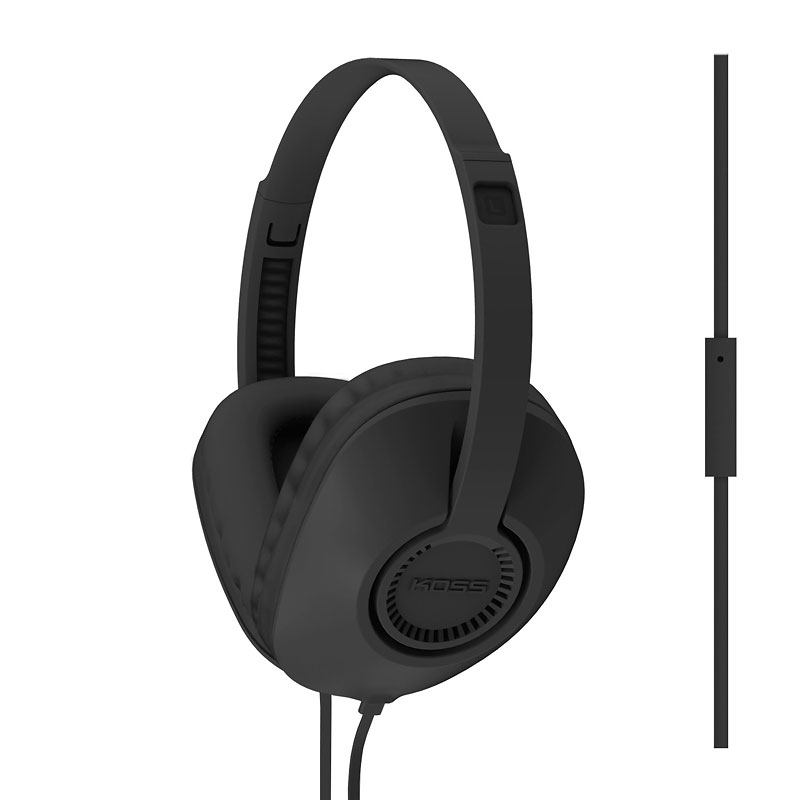 Koss Full-Sized Headphones - Black - UR23IK