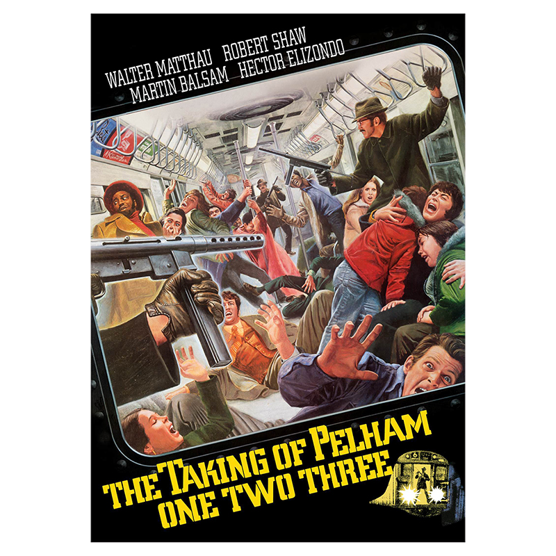 The Taking of Pelham One Two Three (1974) - DVD