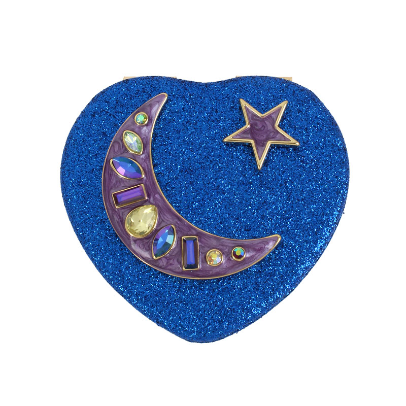 Betsey Johnson Blue Moon Compact Mirror