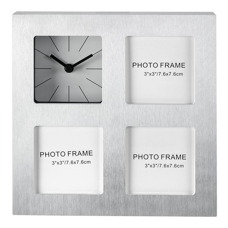 Kg Sidney Clock Frame Silver 3 3x3 Inch Ph40128 1 London Drugs