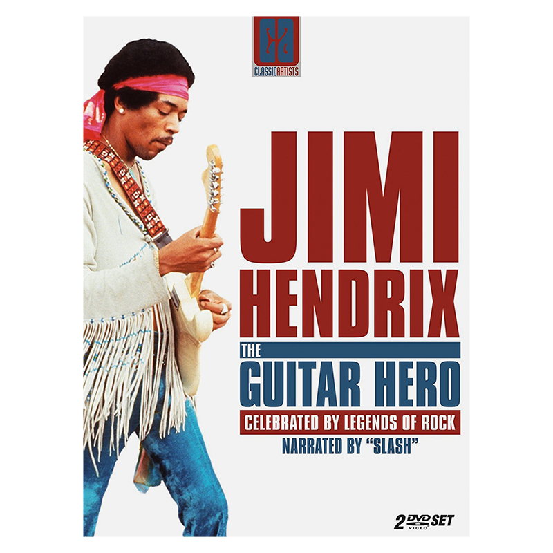 Jimi Hendrix: The Guitar Hero - 2 DVD