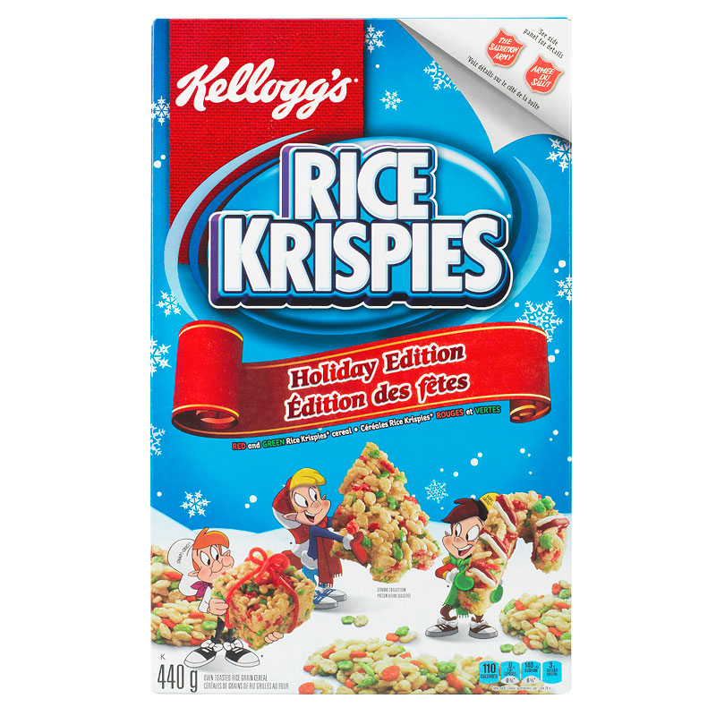 Kellogg's Rice Krispies Cereal - Holiday Edition - 440g