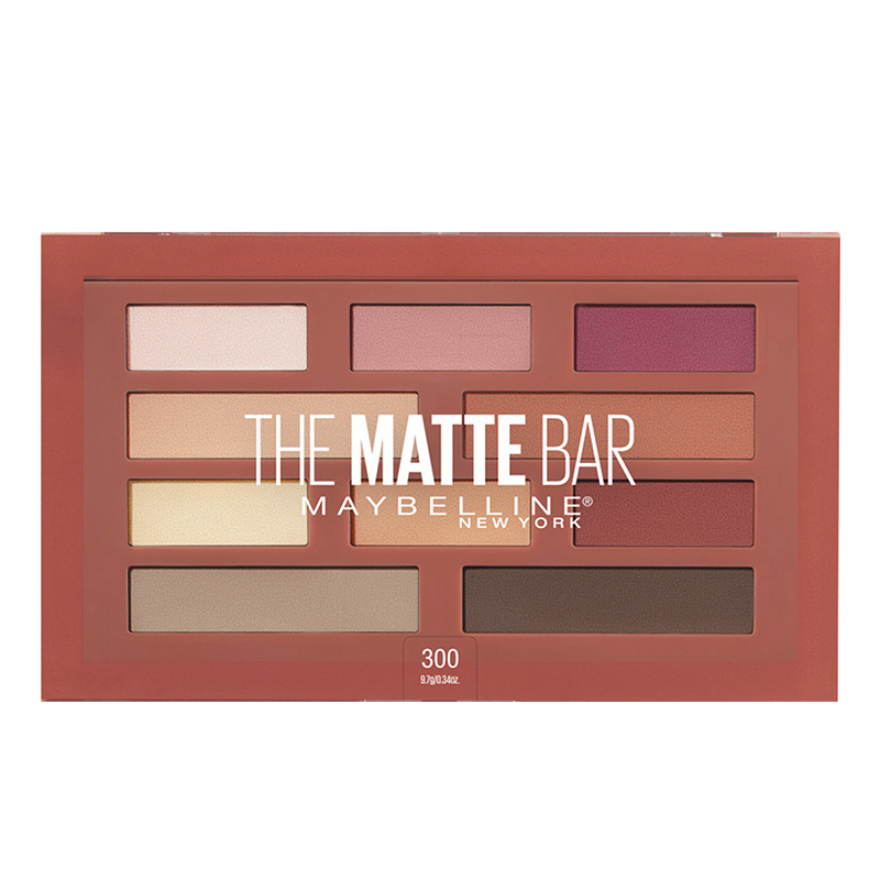 Maybelline The Matte Bar Eyeshadow Palette