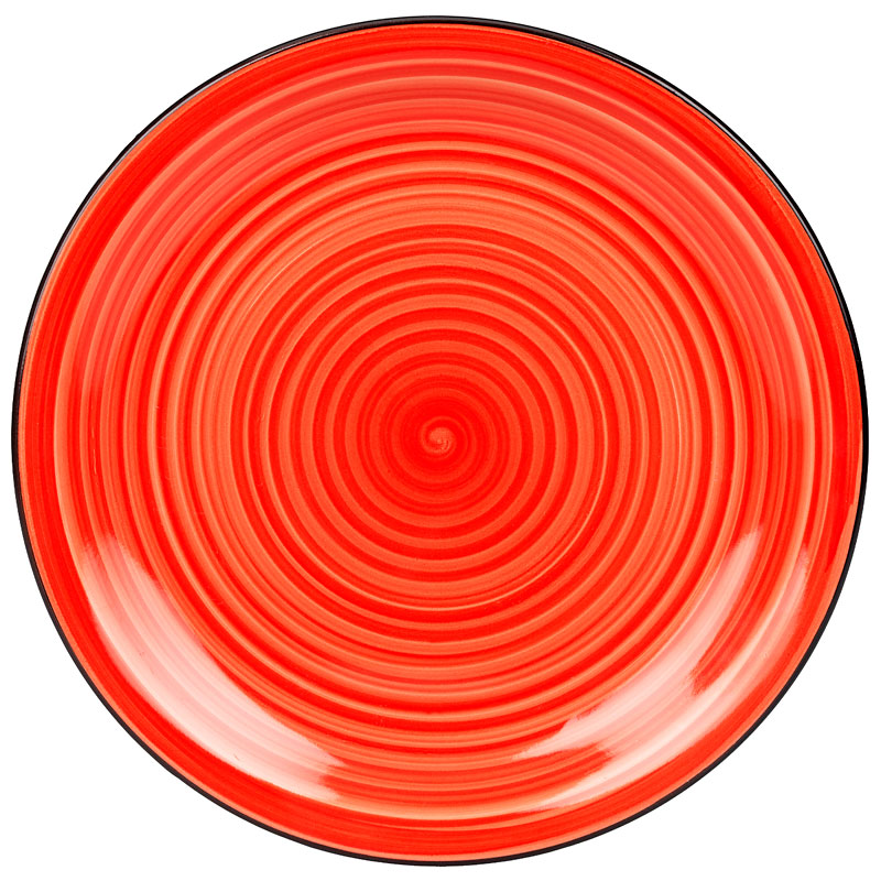 Gibson Colour Vibes Plate - Red - 10.5in