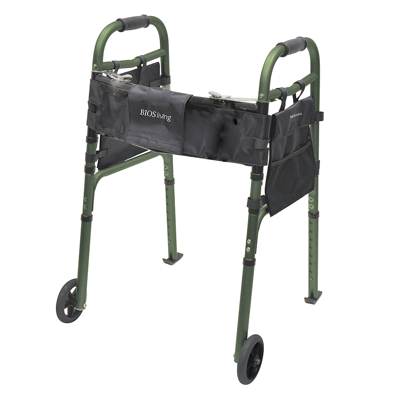 BIOS Living Deluxe Folding Walker with Wheels - 56042