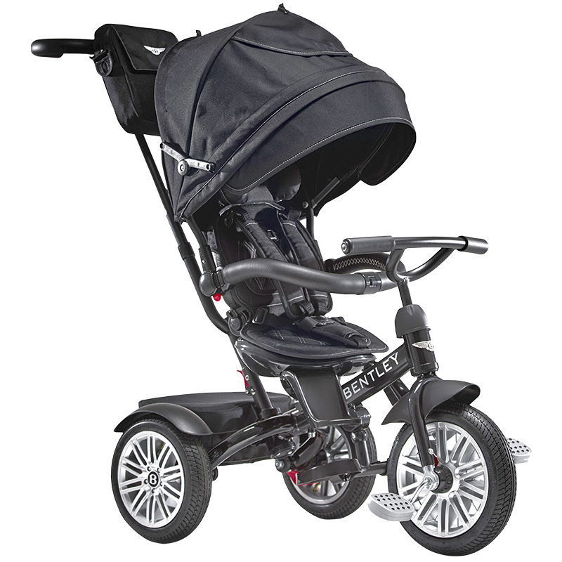 Bentley Tricycle Convertible Stroller - Onyx Black - BN10