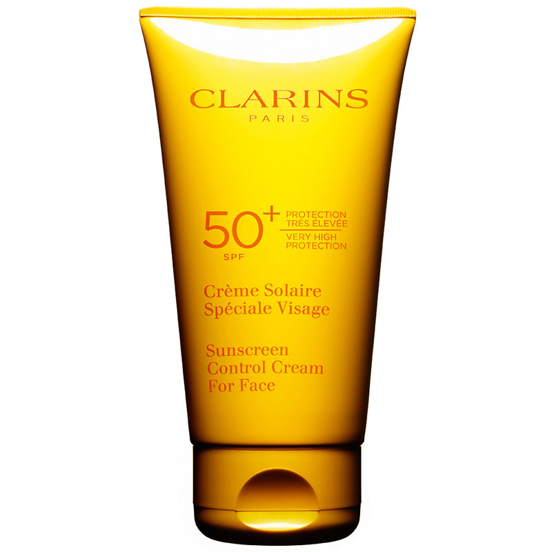 Clarins Sunscreen for Face Wrinkle Control Cream - SPF 50 - 75ml