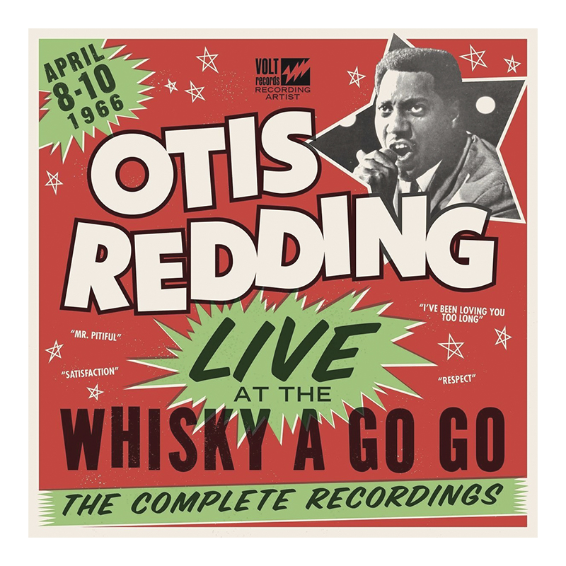 Otis Redding - Live at the Whiskey a Go Go: The Complete Recordings (1966) - Vinyl