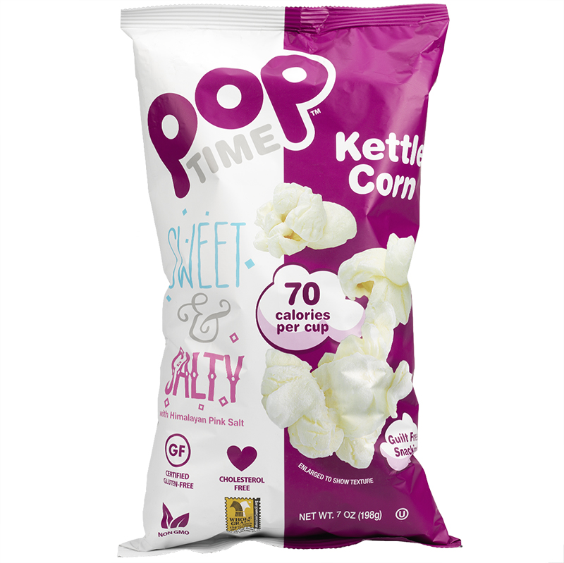 Pop Time Popcorn - Sweet & Salty - 198g
