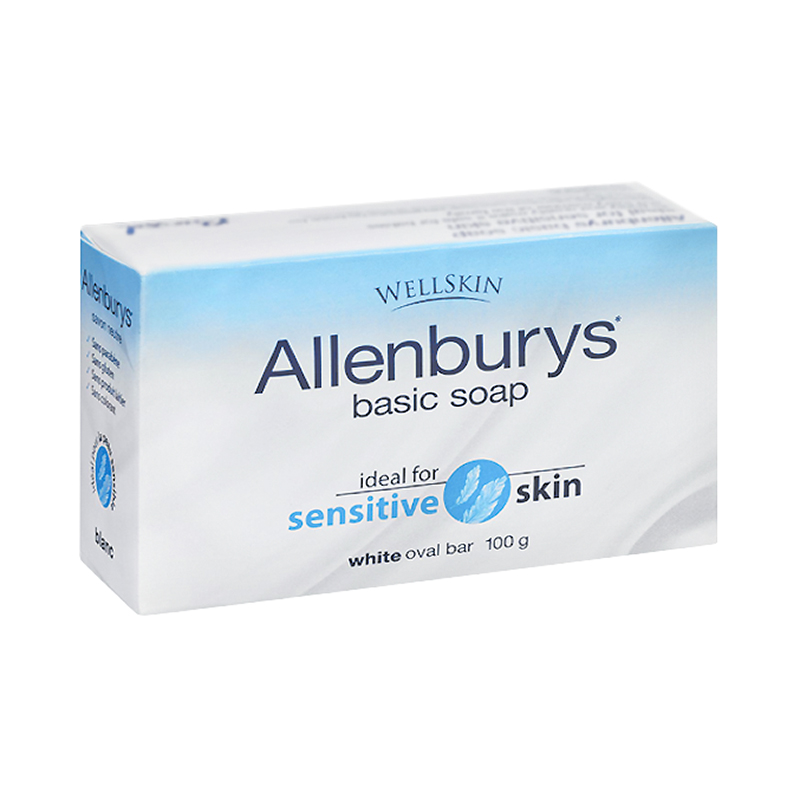 Allenburys Basic Soap - White - 100g