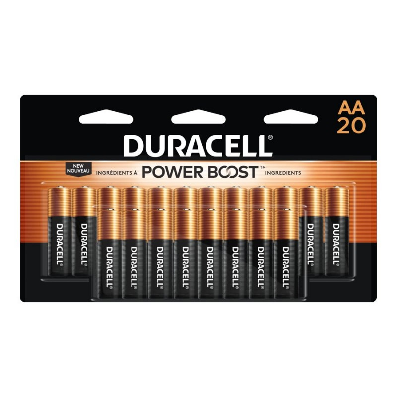 Duracell Coppertop AA Batteries 28 pk