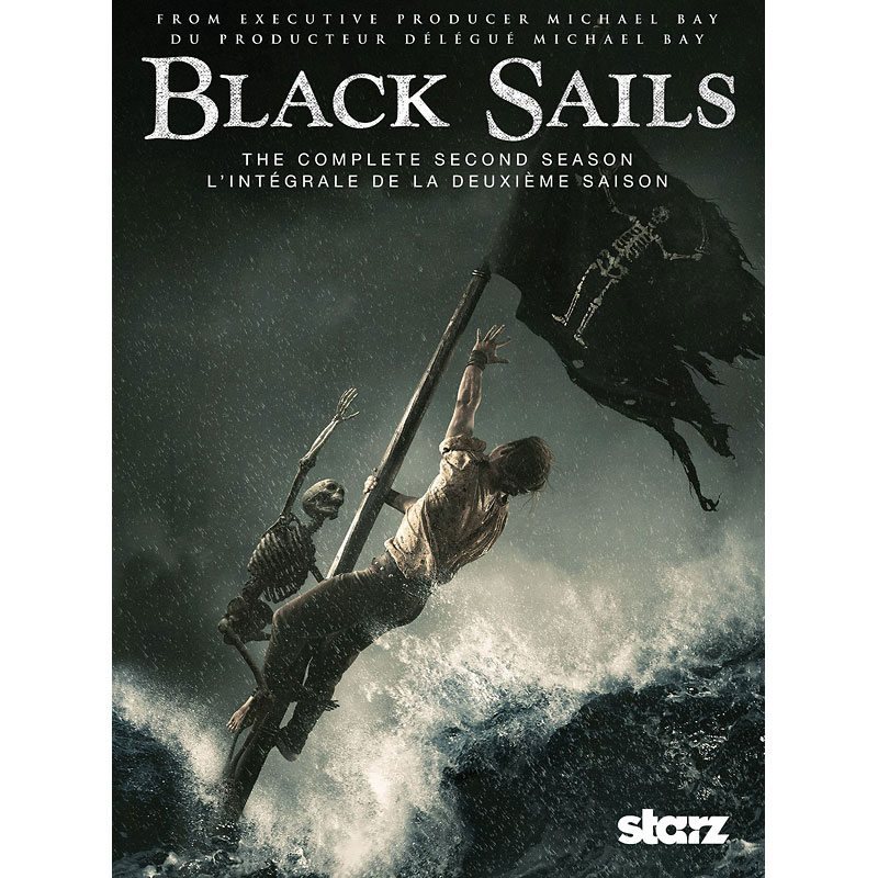 Black Sails: The Complete Second Season - DVD