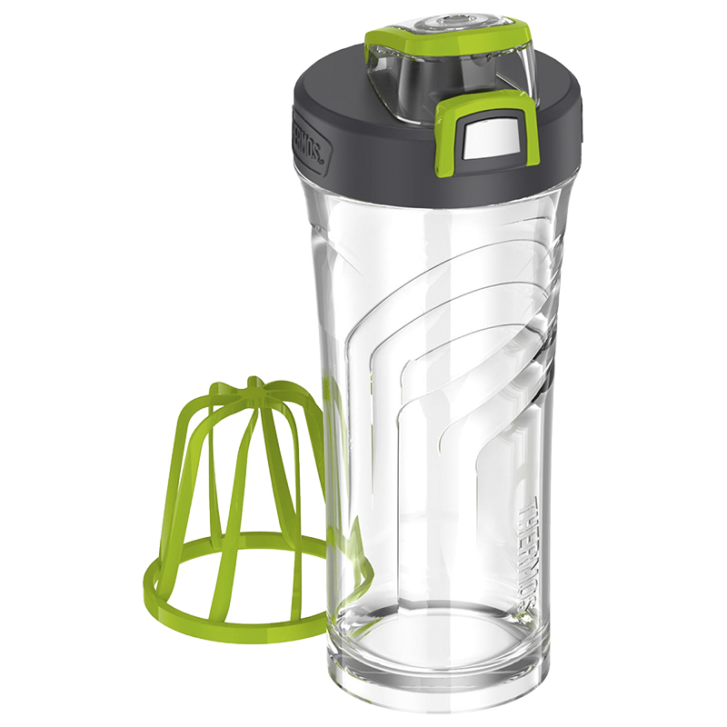Thermos Tritan Shaker Bottle - Clear - 710ml